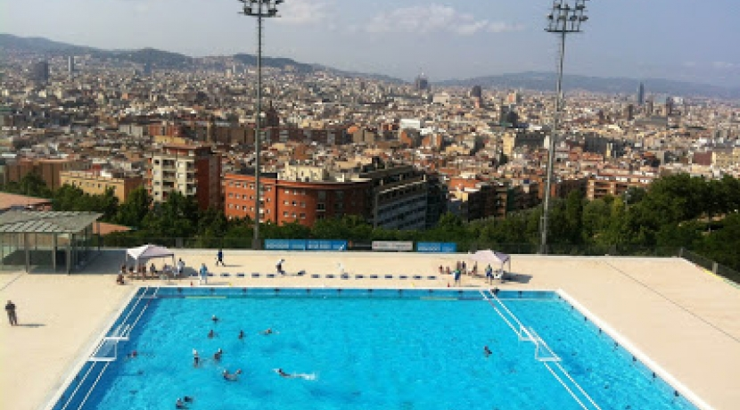 Waterpolo 100 a la municipal de montjuic campionat de for Piscina can drago precios 2017